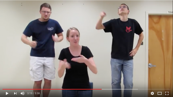 """UGA Student's Sign Video of """"Can't Stop the Feeling"""" goes viral"""