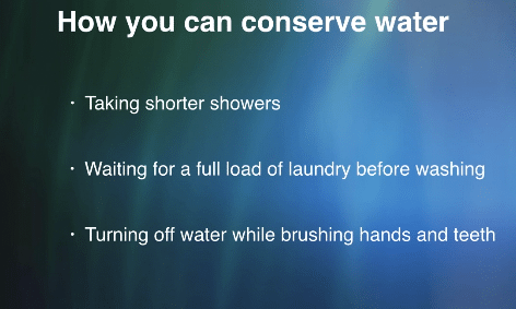 How you can save water during this drought