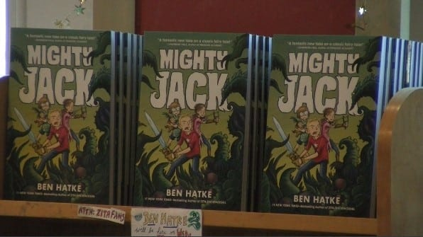 Avid Bookshop Hosts Children's Book Author