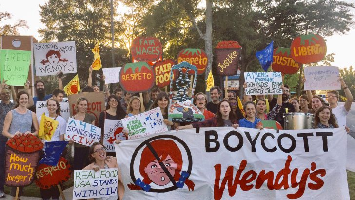 Athens Locals Boycott Against Wendy's