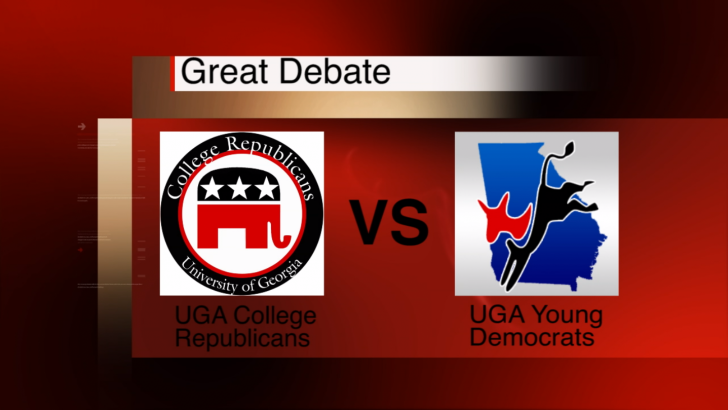 Debate Between UGA Political Groups