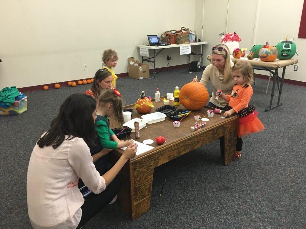 Monday's Pumpkin Workshop. PC: Rebecca Ballard