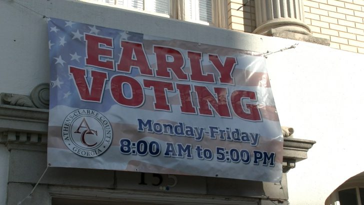 Record Long Lines for Early Voting