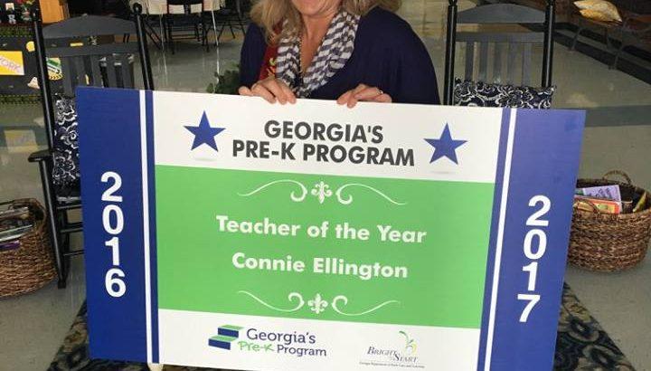 Barrow County Teacher wins Georgia Pre-K Teacher of the Year Award