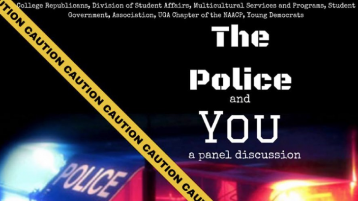 Police and political parties together for panel