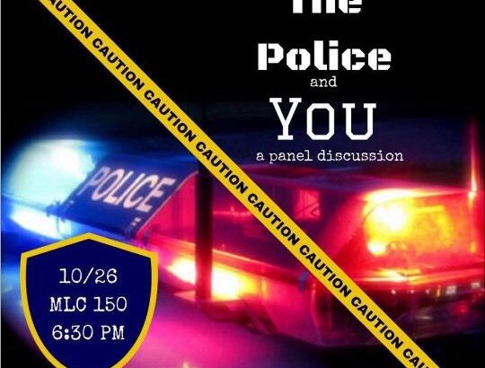 The Police and You: A Discussion on Police Relations