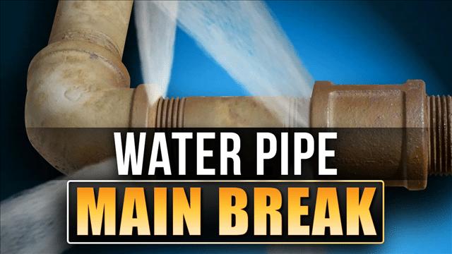 BREAKING: Water Main Break