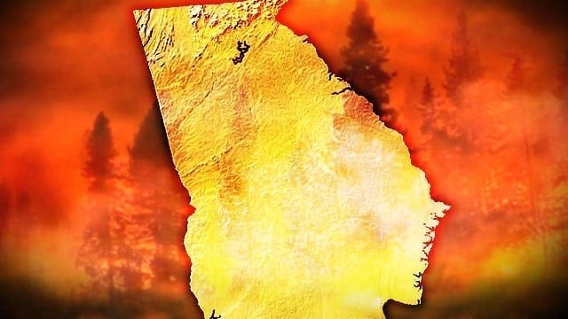 Georgia Forestry Commission Responds to Fires Across the State