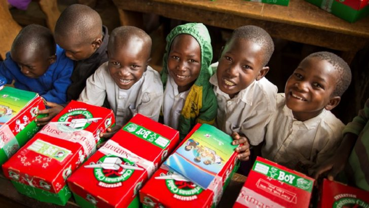 Operation Christmas Child Underway
