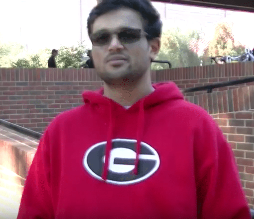 Emil Dmello, UGA senior