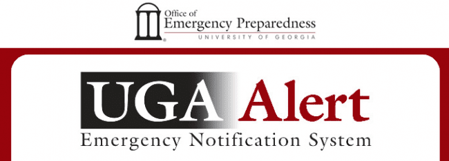 How To: UGA Alert