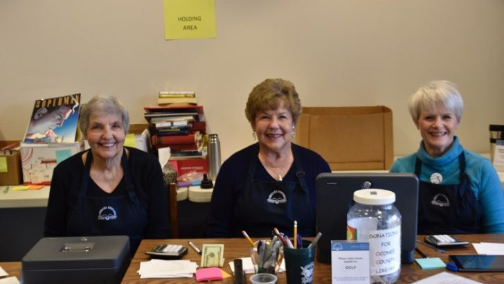 Oconee County Library hopes to raise $10,000 from book sale