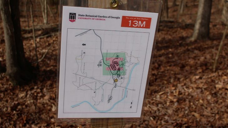 Signs added to trails at state botanical gardens