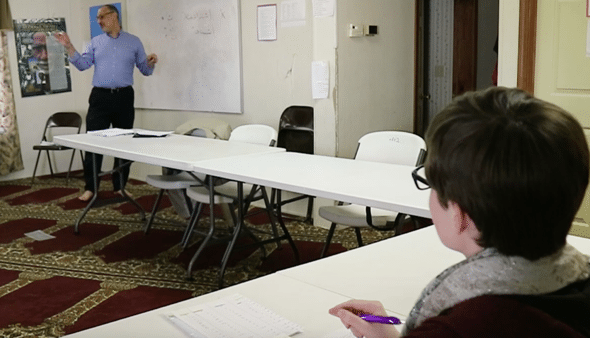 Building Bridges Through Language: UGA Professor Teaches Arabic Lessons to Athens Community