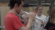 Redcoat Band Member, Now Cancer-Free, Returns to UGA