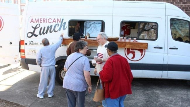 American Lunch: Mobile Soup Kitchen Feeds Thousands in Athens