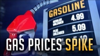 Rising Gas Prices Due to Hurricane Harvey