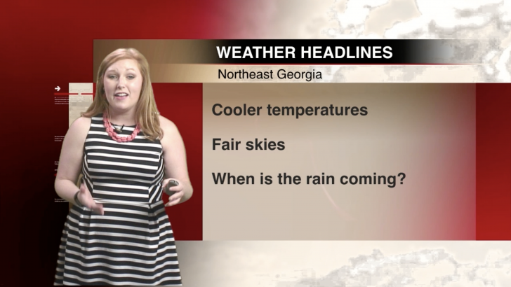 WEATHER: Cooler Temperatures Coming