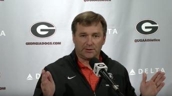 Kirby Smart Talks: No. 11 Georgia vs. No. 17 Mississippi State