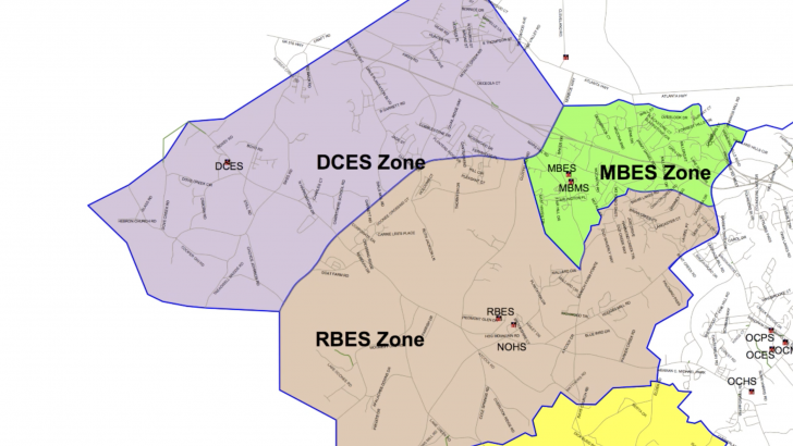 Proposed Redistricting Plans for Oconee Co.