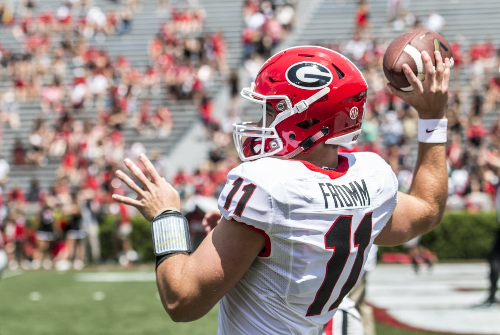 "Church Hosts ""Jake Fromm State Farm"" Tailgate"