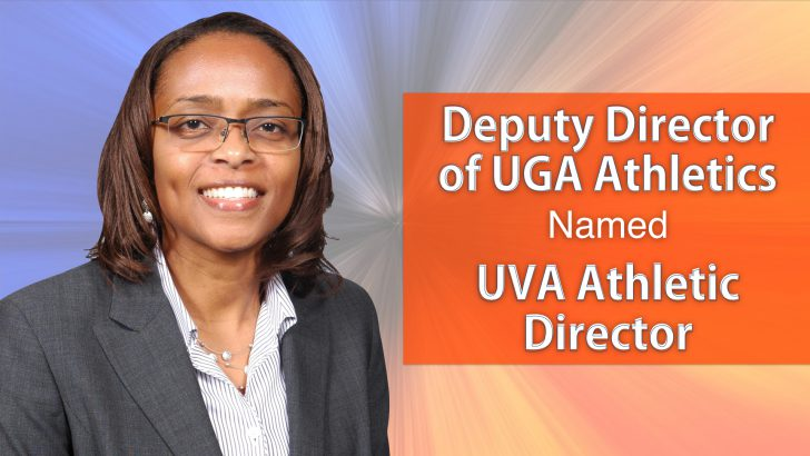 Deputy Director of UGA Athletics named UVA Athletic Director