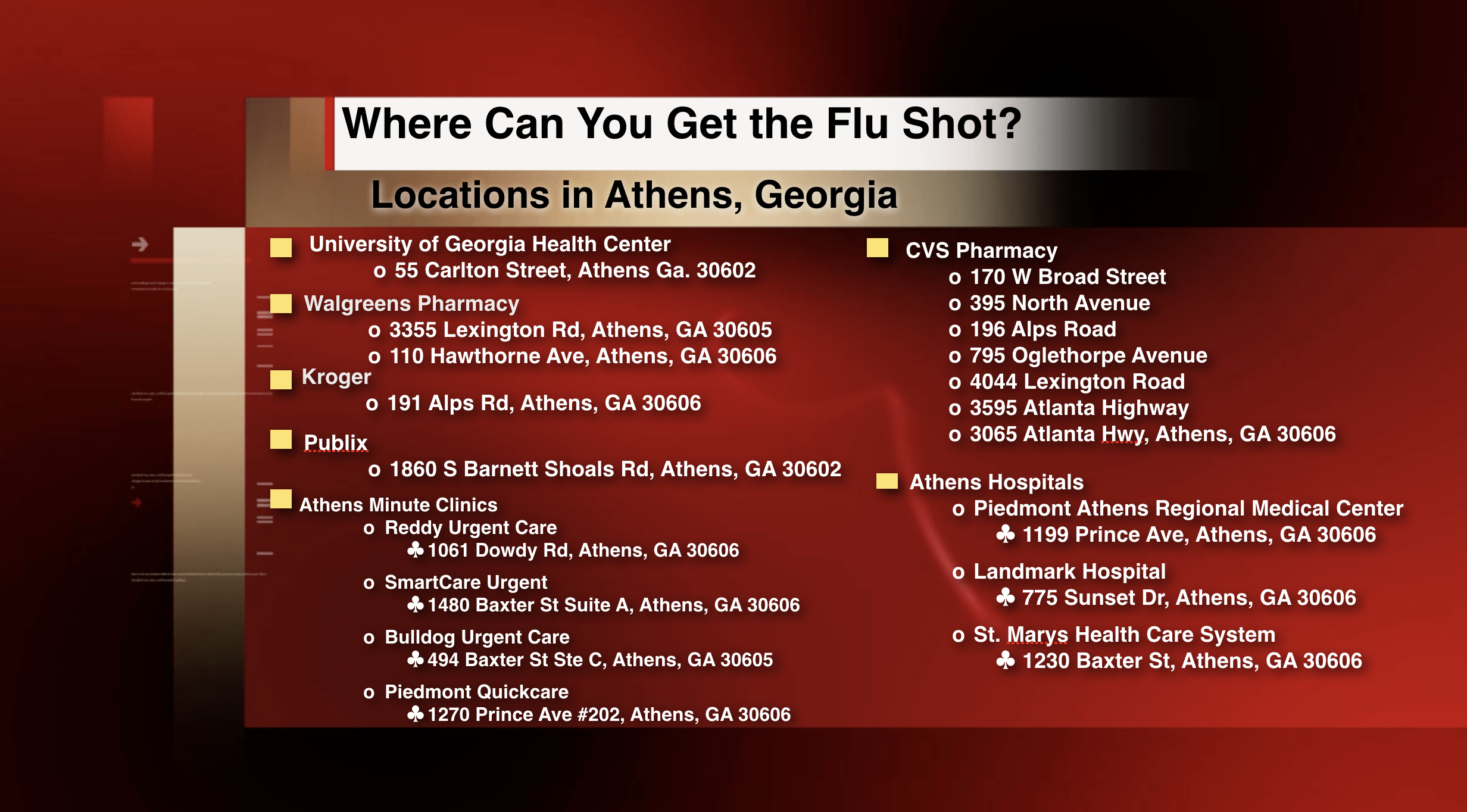 Where Can You Get a Flu Shot?