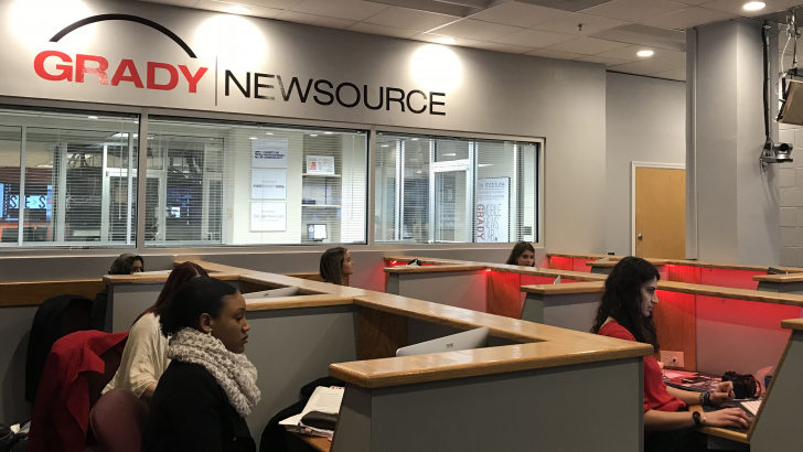 Week One Behind the Scenes at Grady Newsource