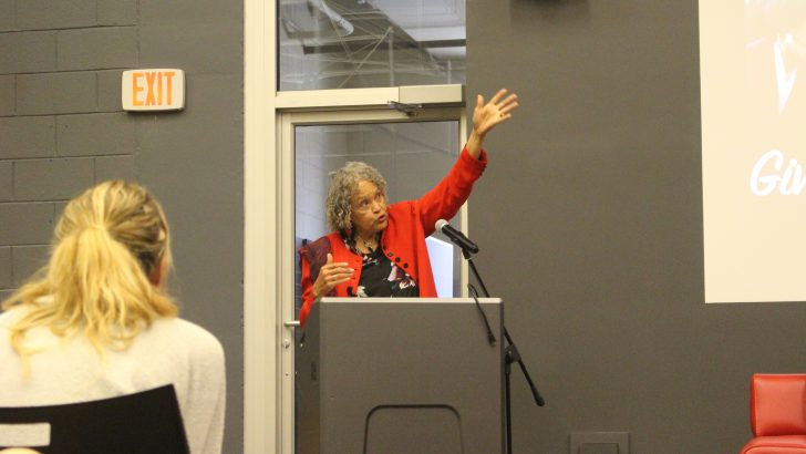 Charlayne Hunter-Gault Speaks at Grady
