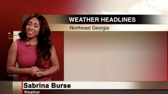 Weather with Sabrina Burse