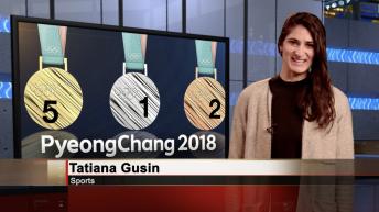 Olympics with Tatiana Gusin