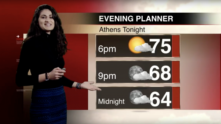 Thursday Weather with Tatiana Gusin
