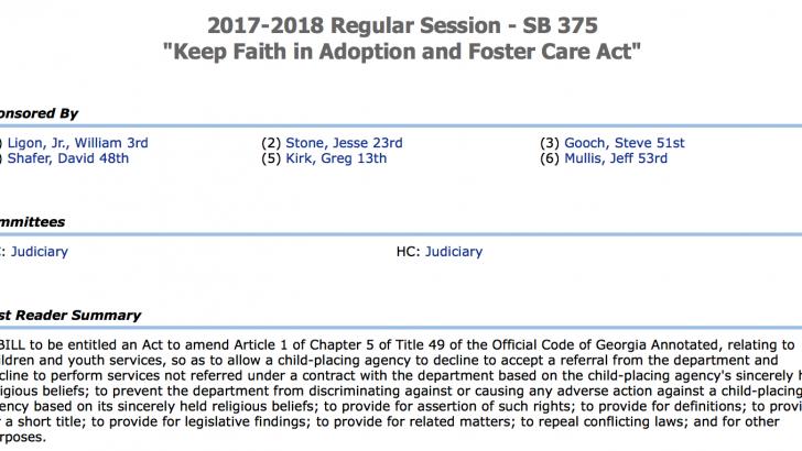Anti-LGBT Adoption Bill