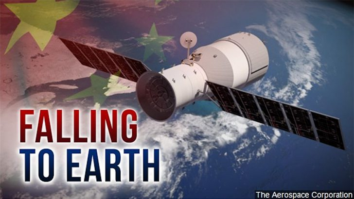 Chinese Satellite Expected to Fall This Weekend