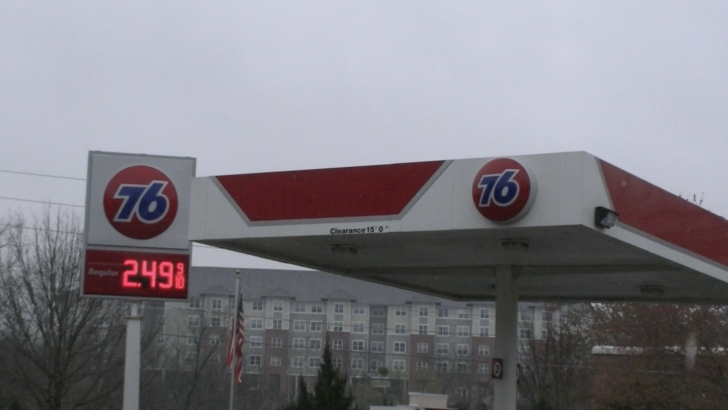 Rise in Gas Prices