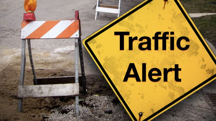 Traffic Alert: Lane Change on Mars Hill Road