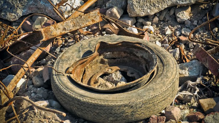 Grady Explains: The Environmental Impact of Dumped Tires