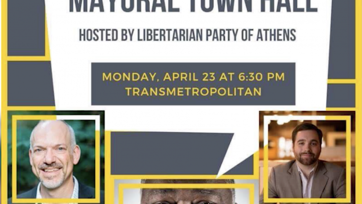 Libertarian Town Hall Meeting Tonight!