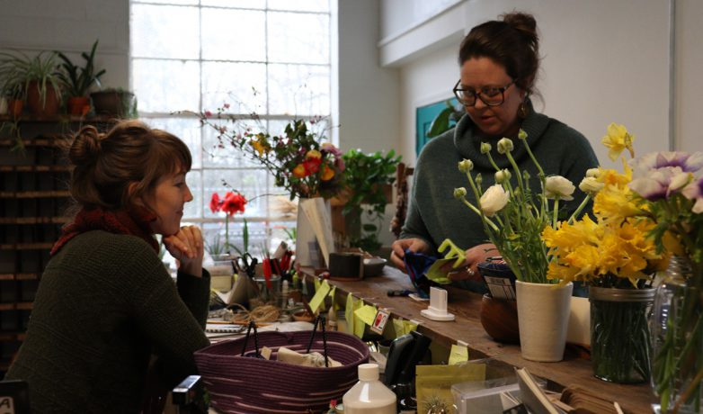 The inventory at Lotta Mae's is staged for customers on Feb. 20, 2019, at Lotta Mae's Supply Co. in Athens, Georgia. Van Cantfort says that she wants to be about authenticity and that everything in the shop has a story. (Photo/Mary Martin Harper)