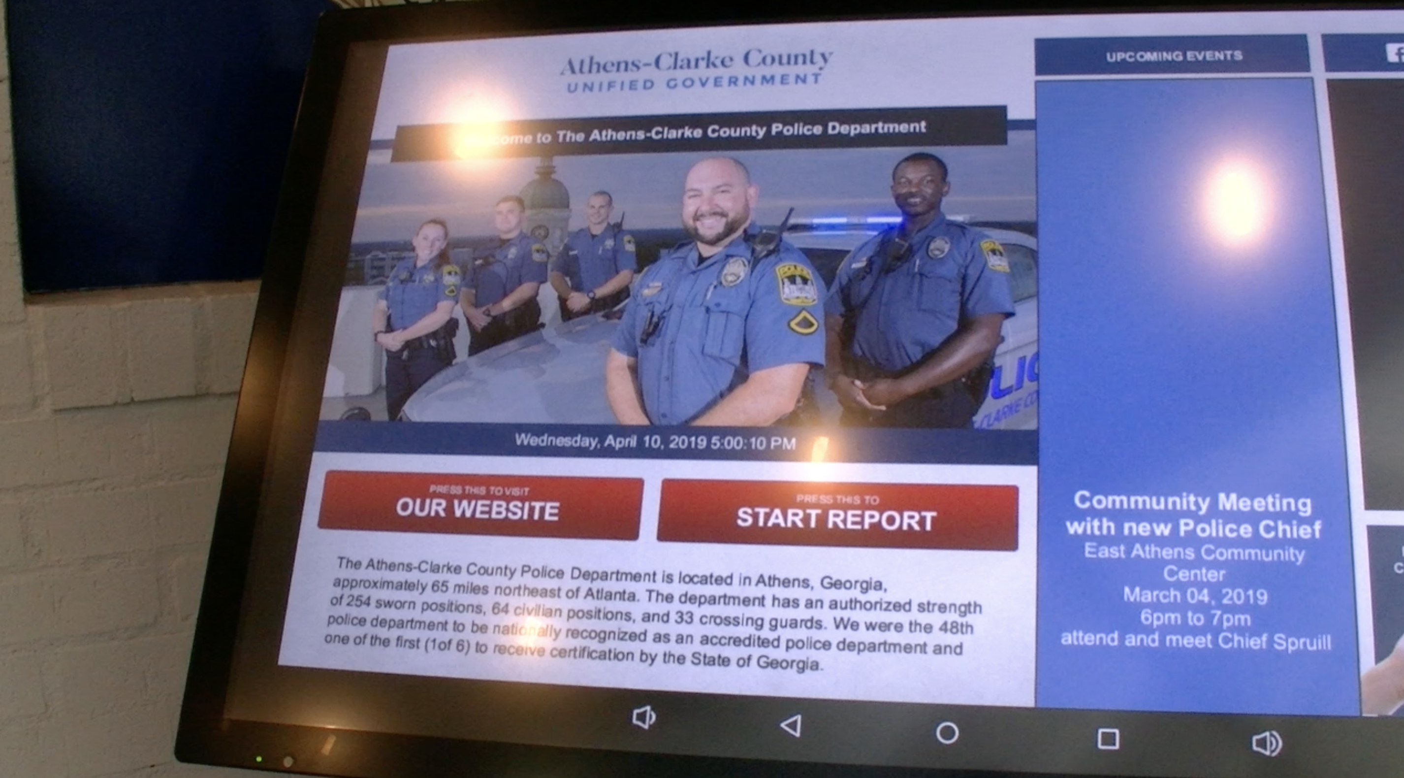 Athens-Clarke County Police Department Offers Online