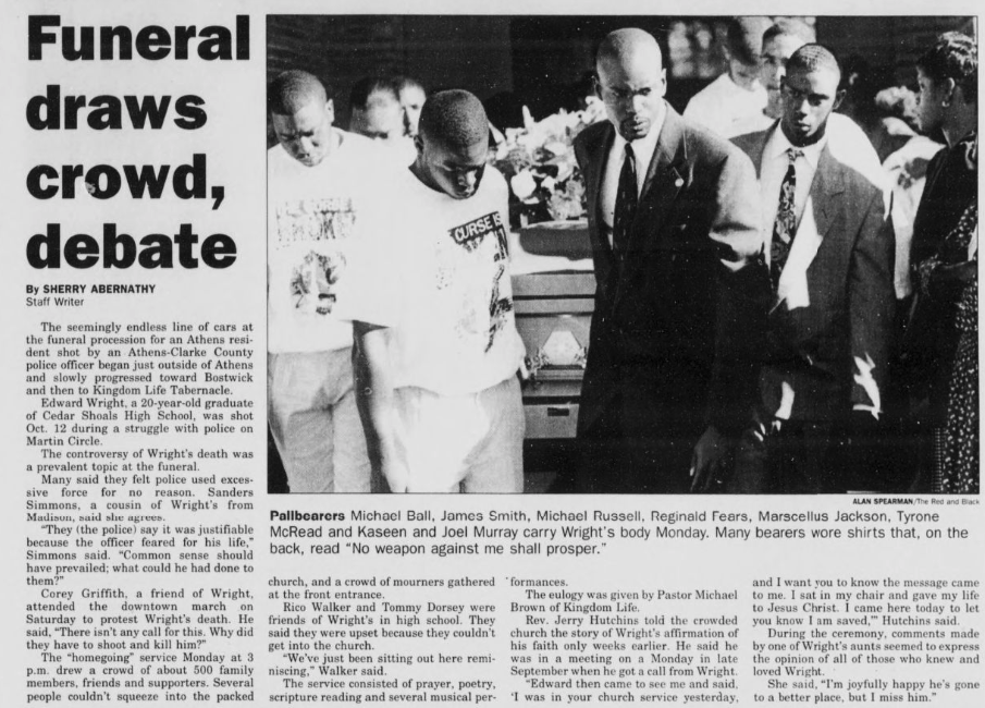24 Years After Death of Edward Wright, What Does Public