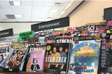 Some of the most popular entertainment magazines are Entertainment Weekly, Variety, and American Cinematographer. The topics covered in these magazines are film, television, music, Broadway theatre, books, and popular culture.